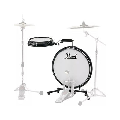 "Pearl PCTK-1810 Compact Traveler 2-Piece Drum Kit with Slim 18"" Bass Drum"