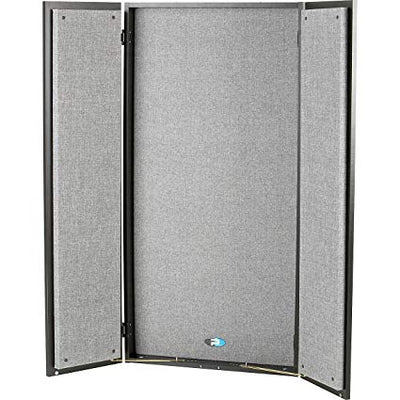 Primacoustic FlexiBooth Wall mount vocal booth, 24'' x 48'' x 6'' (Black/Grey)