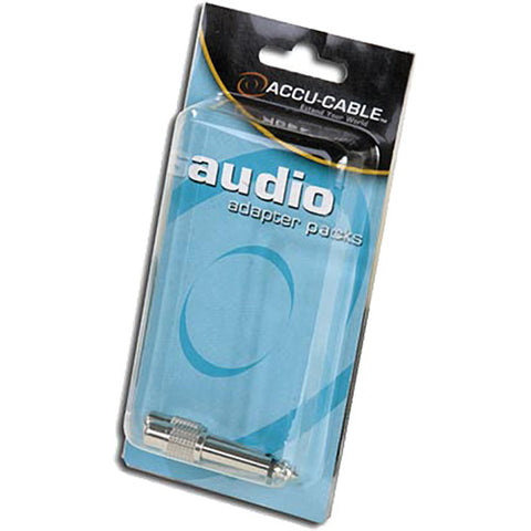 "Accu-Cable Audio Adapter 1/4"" Male to RCA Female"