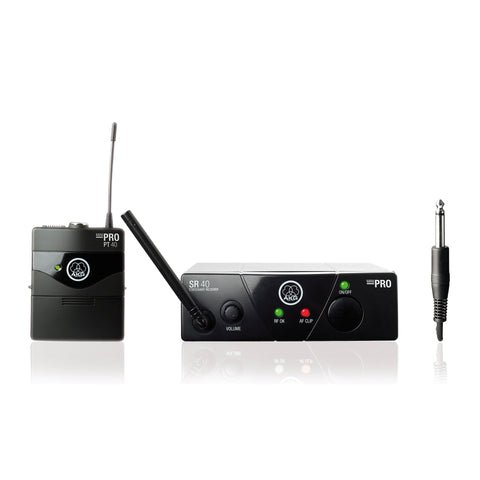 AKG WMS 40 Mini Instrumental Set (Freq. 25D) Wireless System