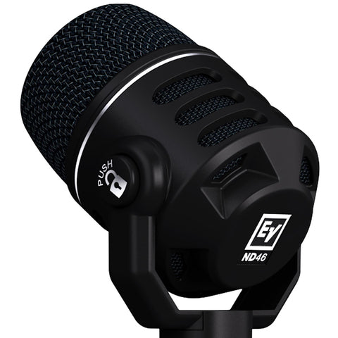 Electro-Voice ND46 - Dynamic Supercardioid Instrument Microphone