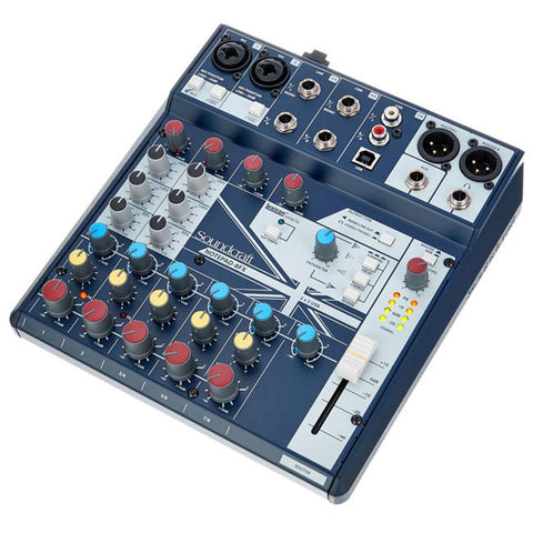 Soundcraft Notepad 8FX Desktop Mixer with USB and Effects