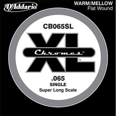 D'Addario CB065SL - SINGLE  BASS CHROMES 065 SL