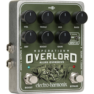 Electro-Harmonix OPERATION OVERLORD Overdrive Pedal