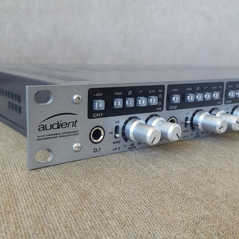 Audient ASP880 - 8-Channel Microphone Preamp