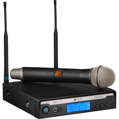Electro-Voice R300-HD - Wireless Handheld Microphone System (C Range)