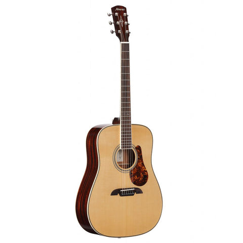 Alvarez MD60EBG - Bluegrass Dreadnought Electric Acoustic, Natural Gloss Finish