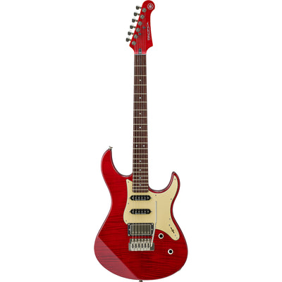 Yamaha PAC612VIIX Electric Guitar - Fired Red