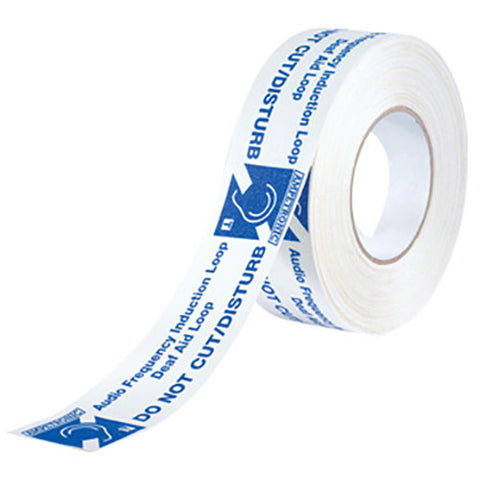 Listen Technologies PWT - Adhesive Installation/Warning Tape 164 ft. (50 m)