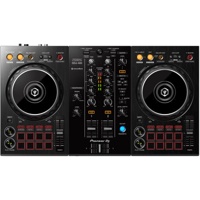 Pioneer DDJ-400 2-Channel DJ Controller for rekordbox - Black