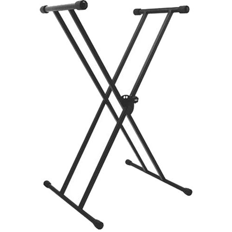 On-Stage-Stands KS7191 - Classic Double-X Keyboard Stand