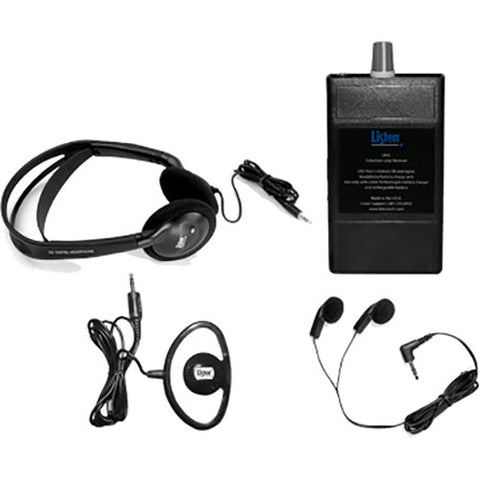 Listen Technologies LP-IL-1 - Hearing Loop Receiver with Lanyard Package