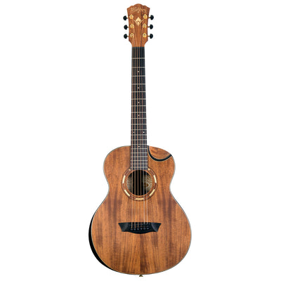 Washburn Comfort G-Mini 55 KOA Acoustic Guitar (Natural)