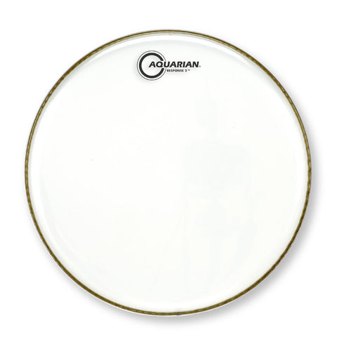 Aquarian TCRSP2-12 - 12'' TEX COATED RESPONSE 2     TWO PLY DRUMHEAD