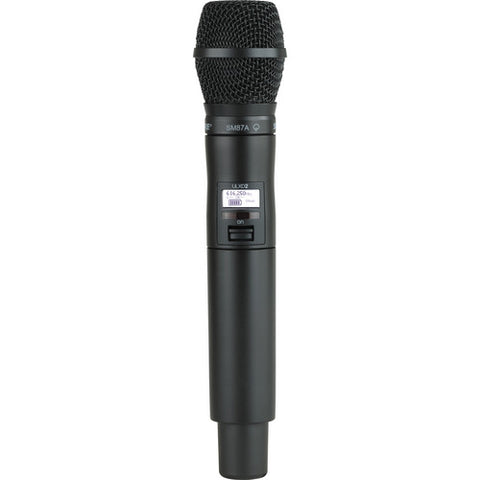 Shure ULXD2 Wireless Handheld Vocal Microphone Transmitter SM87 G50: 470 - 534 MHz