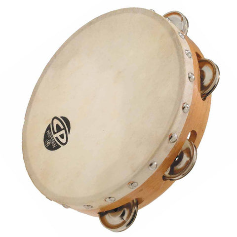 "LP CP378 - 8"" Tambourine (Head, Single Row)"