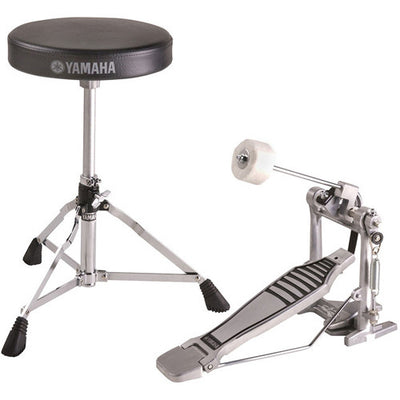 Yamaha FPDS2A - DS550 Drum Stool and FP6110A Bass Pedal Box Set