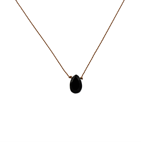 Strength: Black Onyx Necklace