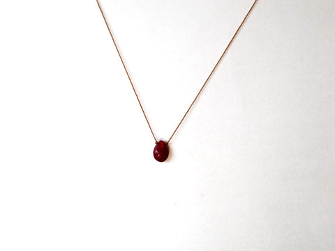 Goddess: Ruby Necklace