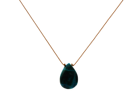 Empowerement: Chrysocolla Necklace