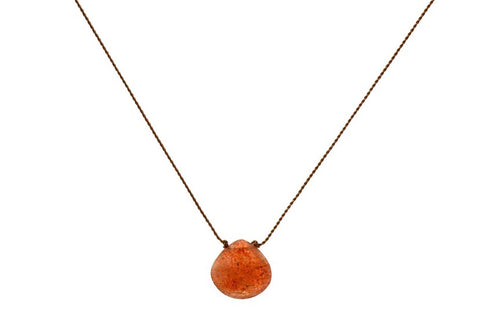 Cleansing: Sunstone Necklace