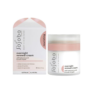 Jojoba Company Overnight Renewal Cream 50ml