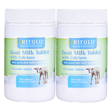 Load image into Gallery viewer, Rifold Goat Milk with Calcium 300 Tablets
