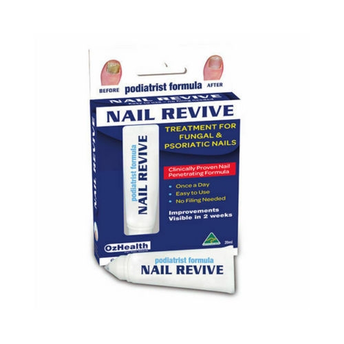 Ozhealth Podiatrist Formula Nail Revive 20ml