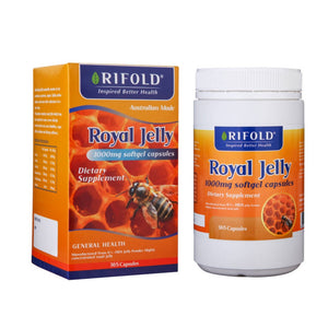 Rifold Royal Jelly 1000mg 365 Soft Capsules