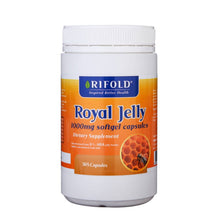 Load image into Gallery viewer, Rifold Royal Jelly 1000mg 365 Soft Capsules