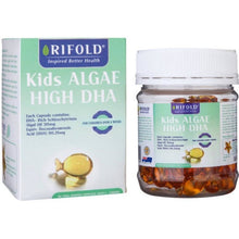 Load image into Gallery viewer, Rifold Kids Algae High DHA 90 capsules