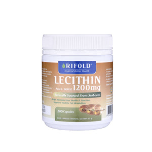 Rifold lecithin 1200mg 200 capsules