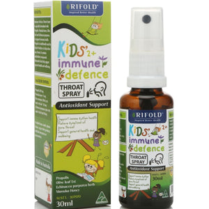 Rifold kid's Immune Defence Throat Spray 30ml
