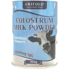 Load image into Gallery viewer, Rifold Colostrum Milk Powder 450g