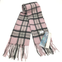 Load image into Gallery viewer, Aroma Ugg Australia Merino Wool Scarf 30cm x 180cm Pinky Grey