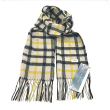 Load image into Gallery viewer, Aroma Ugg Australia Merino Wool Scarf 30cm x 180cm  Mellow Yellow