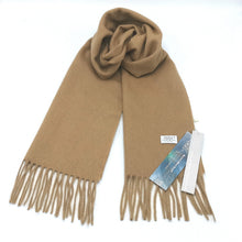 Load image into Gallery viewer, Aroma Ugg Australia Merino Wool Scarf 30cm x 180cm  Sand Dune