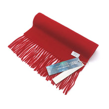 Load image into Gallery viewer,  Aroma Ugg Australia Merino Wool Scarf 30cm x 180cm  Hot Red