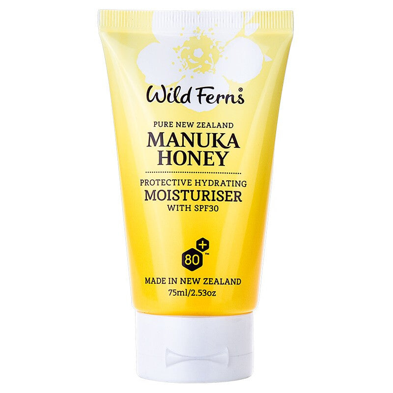 Wild Ferns Manuka Honey Protective Hydrating Moisturiser with SPF30 85ml