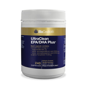 BioCeuticals  UltraClean EPA/DHA Plus 240 Capsules