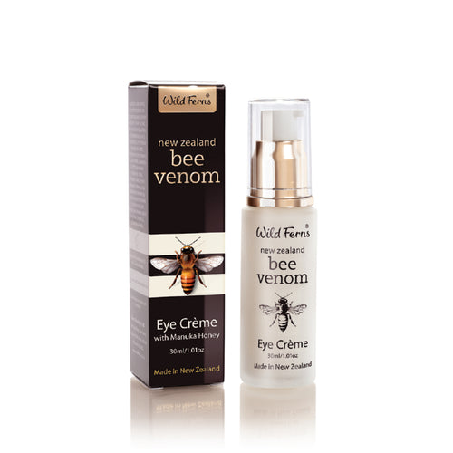 Wild Fern Bee Venom Eye Crème with Active Manuka Honey 30ml
