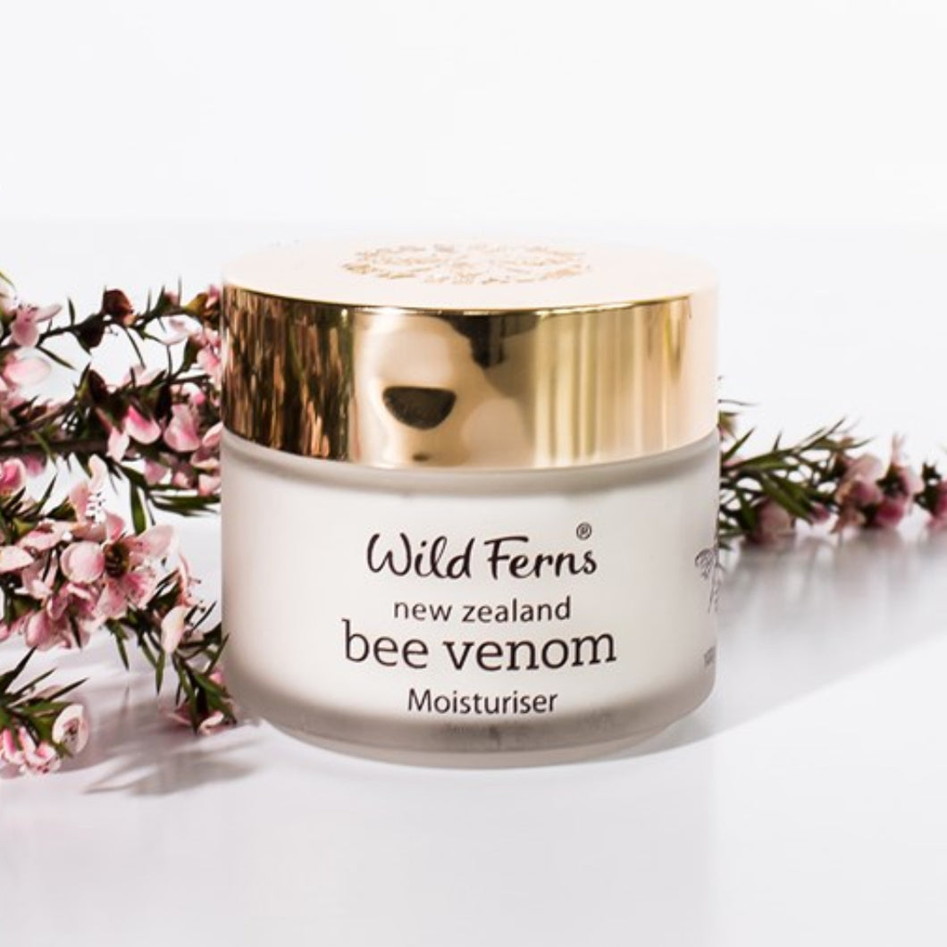 Wild Fern Bee Venom Moisturiser with 80+ Manuka Honey 100g