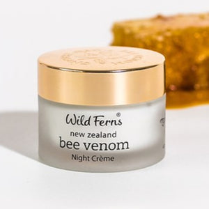Wild Fern Bee Venom Night Creme with 80+ Manuka Honey 47g
