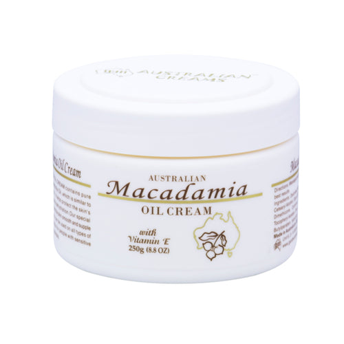 G&M Cosmetics Australia Macadamia Oil Cream 250g