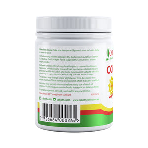 COLLAGEN FOOD (MSM + VIT C + SILICA) 200G
