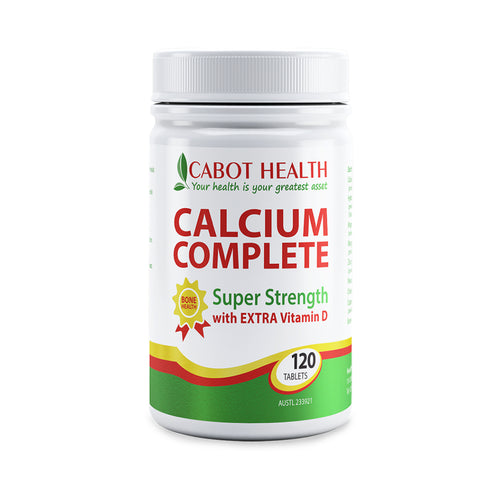 Cabot Health Calcium Complete 120 Tablets