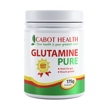 Load image into Gallery viewer, Cabot Health Glutamine Pure Powder 175g