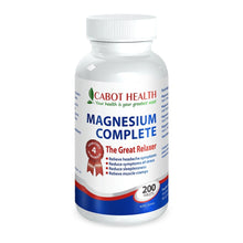 Load image into Gallery viewer, Cabot Health Magnesium Complete 200 Tablets