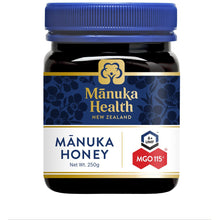Load image into Gallery viewer, Manuka Health MGO115+ UMF6 Manuka Honey 250g