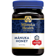 Load image into Gallery viewer, Manuka Health MGO115+ UMF6 Manuka Honey 500g